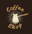coffee logo for logo badge template