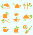 Collection of Healthy Eating vector image vector image