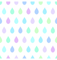 Cool Rain White Background vector image vector image