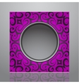 Decorative frame design vector image vector image
