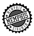memphis black and white badge vector image vector image