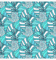 ornamental seamless pattern textile texture vector image