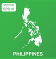 philippines map icon business concept philippines vector image vector image