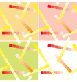 seamless patterns with lines for background vector image vector image