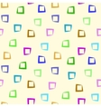 Square chaotic seamless pattern 3406 vector image