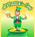 st-patrick-day vector image