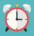 Time design over blue background vector image