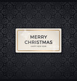 seamless retro gold texture christmas patterns vector image