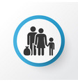 refugee icon symbol premium quality isolated vector image