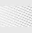 abstract white color paper cut for modern design vector image vector image