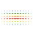 building brick spectral halftone effect vector image