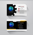 business name card vector image vector image
