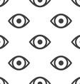 eye seamless pattern vector image vector image