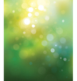 green lights background vector image vector image