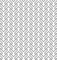 Grey geometric intricate seamless pattern vector image