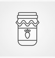 jam icon sign symbol vector image vector image