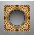 Orient style frame vector image vector image