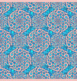 ornamental arabic pattern indian background for vector image vector image