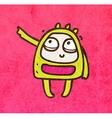 Pointing Alien Cartoon vector image vector image