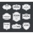 Retro Design Creative Vintage labels vector image vector image