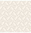 Retro seamless pattern Beige background vector image