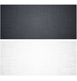 White and grey linen texture vector image