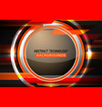abstract circle tech background