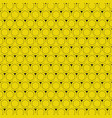 abstract yellow background with hexagon pattern vector image