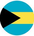 Bahamas flag vector image vector image