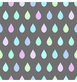 Cool Rain Light Gray Background vector image vector image
