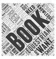 equestrian books Word Cloud Concept vector image vector image