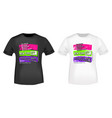 new york city t shirt print stamp vector image vector image