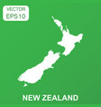 new zealand map icon business concept new zealand vector image vector image