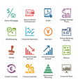 Personal Business Finance Icons Set 3 vector image