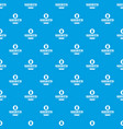 shirt pattern seamless blue vector image