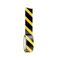 sticky caution tape vector image