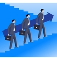 Teamwork business concept vector image vector image