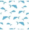 Abstract fish pattern vector image