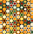 Abstract cells seamless texture vector image