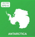 antarctica map icon business concept