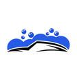 auto car wash logo vector image