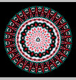 beautiful round pattern vector image