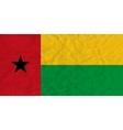 Guinea-Bissau paper flag vector image vector image