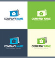 house files logo and icon vector image vector image