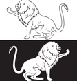 lion4 vector image