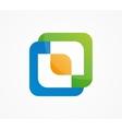 Logo for creative tech companies vector image