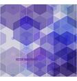 multicolor purple pink polygonal vector image vector image