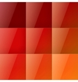 Red squares abstract background vector image vector image