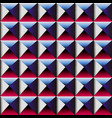 spectrum color square pattern vector image vector image