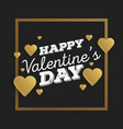 valentines day abstract background with cut paper vector image vector image